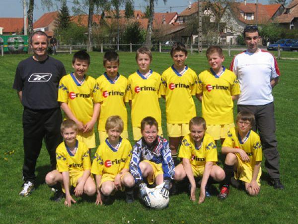 Benjamins Saison 2007 - 2008