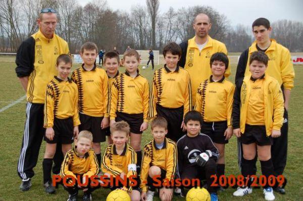 Poussins Saison 2008 / 2009