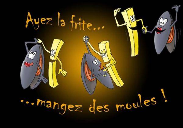 Le 24 Novembre : Moules - Frites : COMPLET