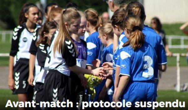 Protocole d'avant match